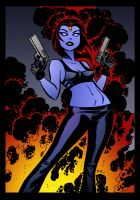 Mystique by Bruce Timm by DrDoom1081