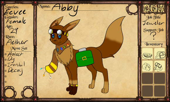 POA Character: Abby by Epix-Sparky