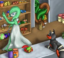 Gardevoir's Shop by Endivinity