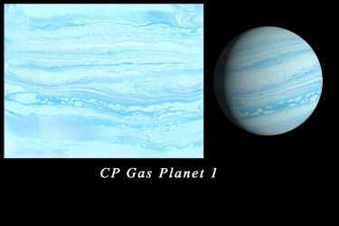 Gas planet 1-040418 by Casperium
