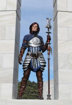 Dragon Age 2 Grey Warden mage - front view by tatjna