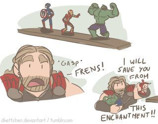Thor vs Action Figures by DKettchen