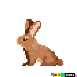 Brown Cottontail! by narwhalpuppy