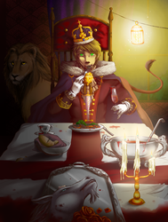 APH: Dine with the King by cocokat