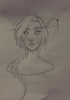 Sketch: Morave by Foxiart