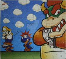 Super Mario 100pc Puzzle by GiftedChild777