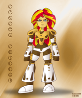 Bionicle Equestria: Sunset Shimmer by SB99stuff