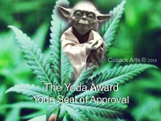 The Yoda Award by Cusackart