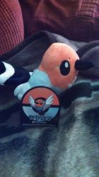 Fletchling plush by Sliverbolt