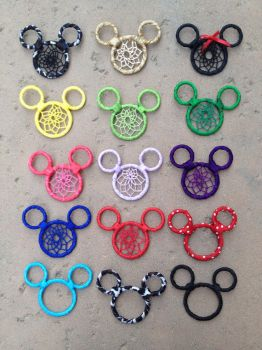 Mickey Mouse Dream Catcher by Craft-Me-A-Dream