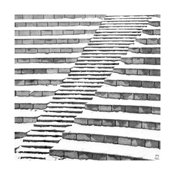 stairs at odds by Samedi