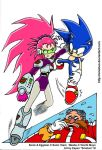 Sonic Vs Battlesuit Washu by emotwo