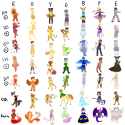 [OPEN-OTA+buyout price] 49 assorted adopts! by UnseenRangerGal
