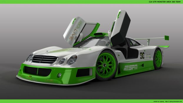 CLK GTTR MXBOX360 by RJamp