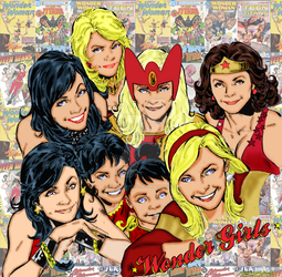 Wonder Girls by Phil Jimenez by markdominic