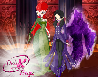 Winx: Fairyx Villains by DragonShinyFlame