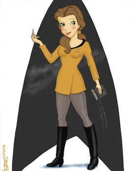 StarTrek TOS Belle by Anime-Ray