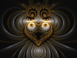 Heart of gold and ivory by eReSaW
