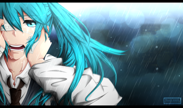 Hatsune Miku - Tokyo Ghoul [gift commission] by Kortrex