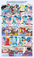 Dash Academy Chapter 7 - Free Fall #1 by SorcerusHorserus