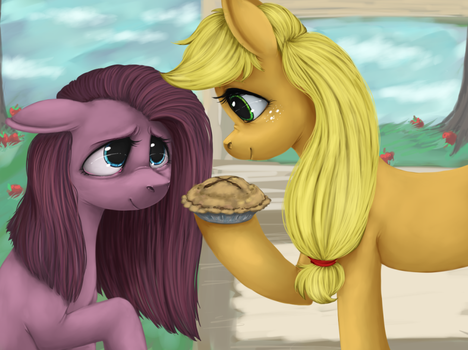 ApplePie by colorlesscupcake