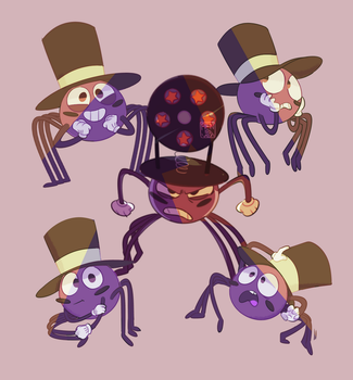Spider with a Top Hat by Rensaven