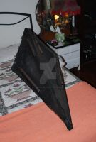 Pyramid head helmet3 by dementorrain