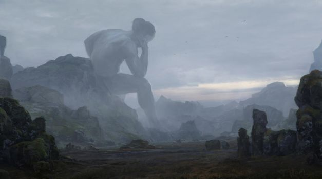 Resting giant by merl1ncz