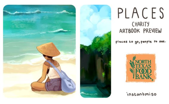 Places: Artbook Preview by instantmiso