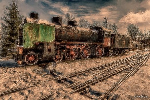 The Old Locomotive by wiwaldi24