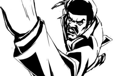 Black Dynamite Pilot Intro Animation
