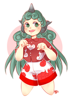 Aunn Komano by MagicalZombie
