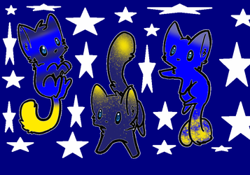 3 outer space adopts CLOSED by Zilly-awesome-Adopts