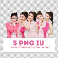 PNG Pack #13: IU by gatothecrazycat