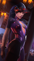 Widowmaker [Overwatch] by Breadblack