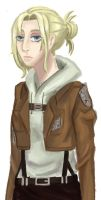 Annie Leonhardt by The-Nettle-Knight