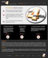 Step 4 Media Website by freshgraphics