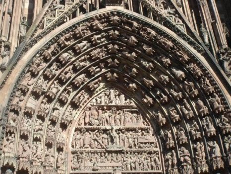 Entrance door of Cathedrale by blackdevilbd