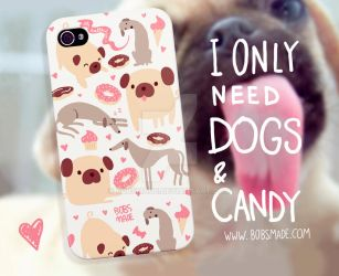 Dogs phone case by Bobsmade