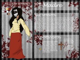 Madre Reference Sheet by HarlynStein