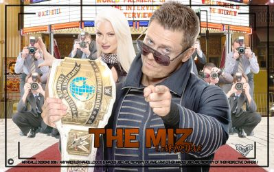 The Miz and Maryse Desktop Wallpaper (1440 X 900) by ChrisNeville85