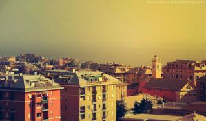 Genova view by FrancescaDelfino