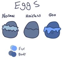 Snoodle Eggs and Coloring by gardensprouts