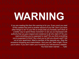 Warning v2.0 by freoment