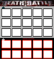 Death Battle Game Meme Template by WOLFBLADE111