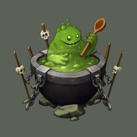 Monster Cook by Sephiroth-Art
