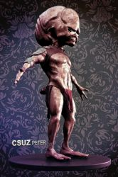 Alien from outer space by csuz