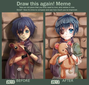 Draw This Again Meme by icurunin