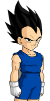 Vegeta Jr Render by LUISHATAKEUCHIHA