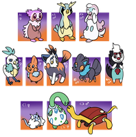 [CLOSED] Some starters, lots of crosses clutch by Featherkissed